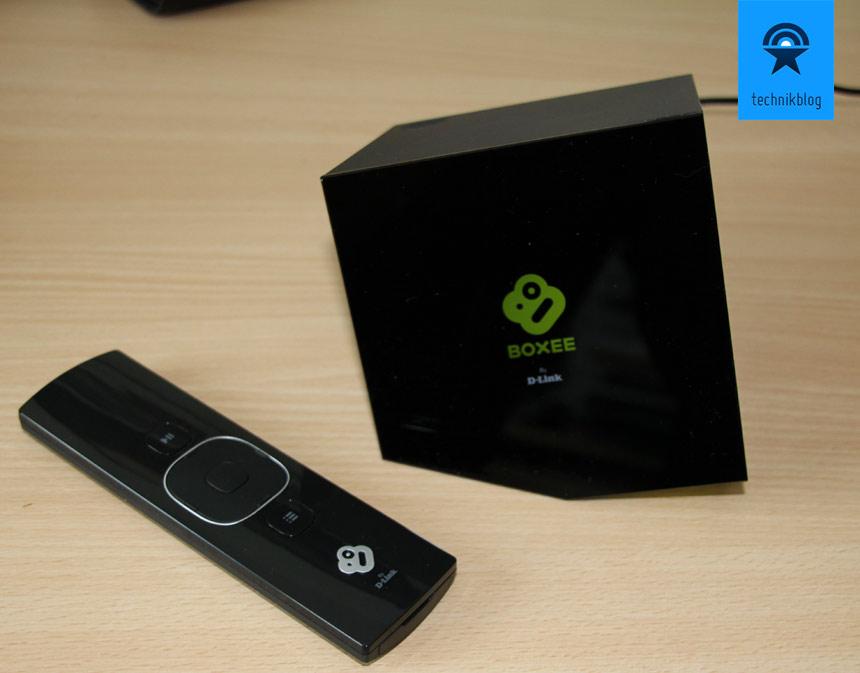 Boxee Box mit Remote