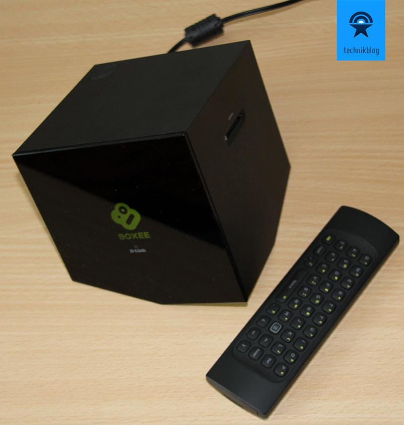 D-Link Boxee Box mit der genialen Fernbedienung