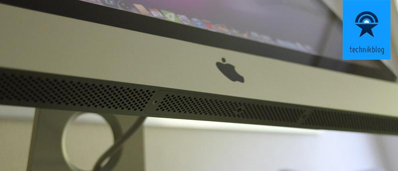 iMac 2011 - Lüfteröffnungen an der Unterseite