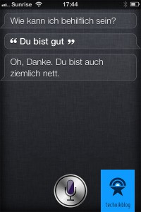 iPhone 4S - Siris Charakter