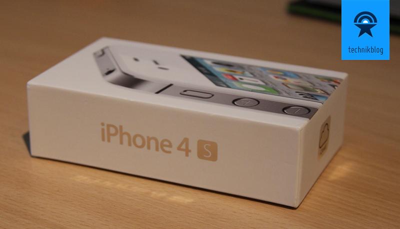 iPhone 4S in der Originalverpackung