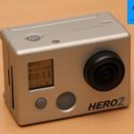 GoPro HD Hero 2 mit neuem Menü im Aufnahmemodus