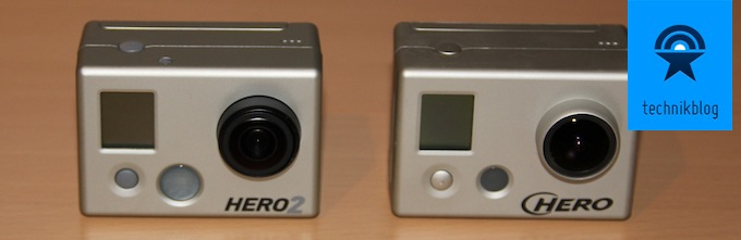 GoPro HD Hero 2 vs 1