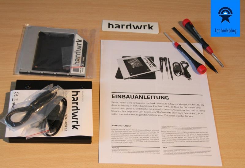 Verlosung eines Hardwrk Adapter Kits