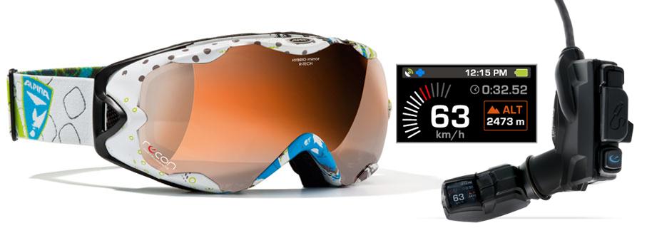 Recon MOD Live mit Alpina R-Tec Goggle