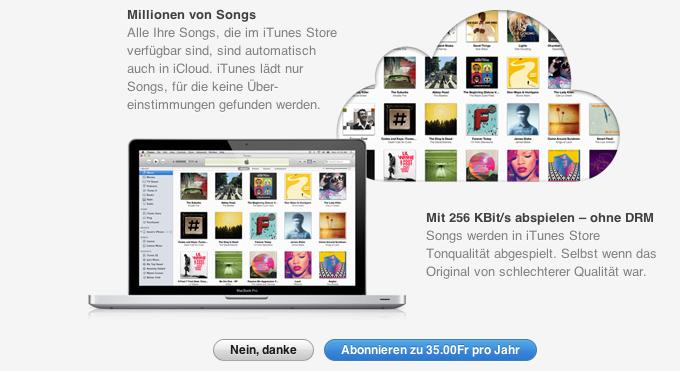 iTunes Match in Deutschland verfügbar