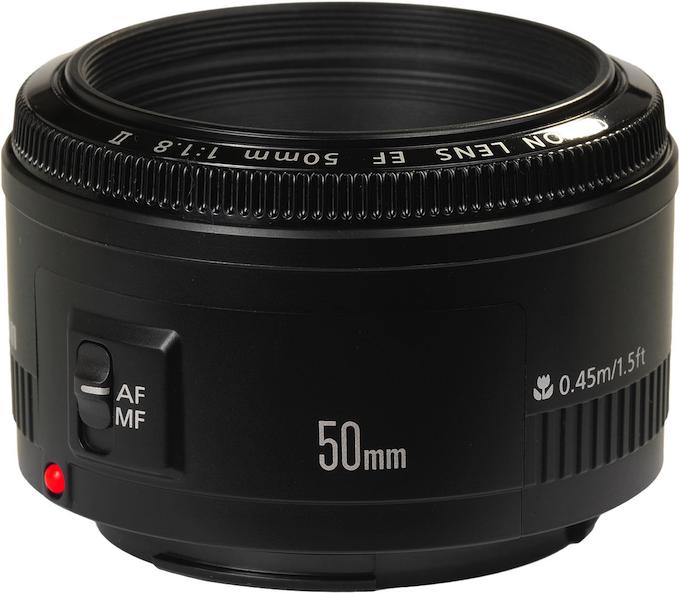 Canon 50mm 1.8 Lens