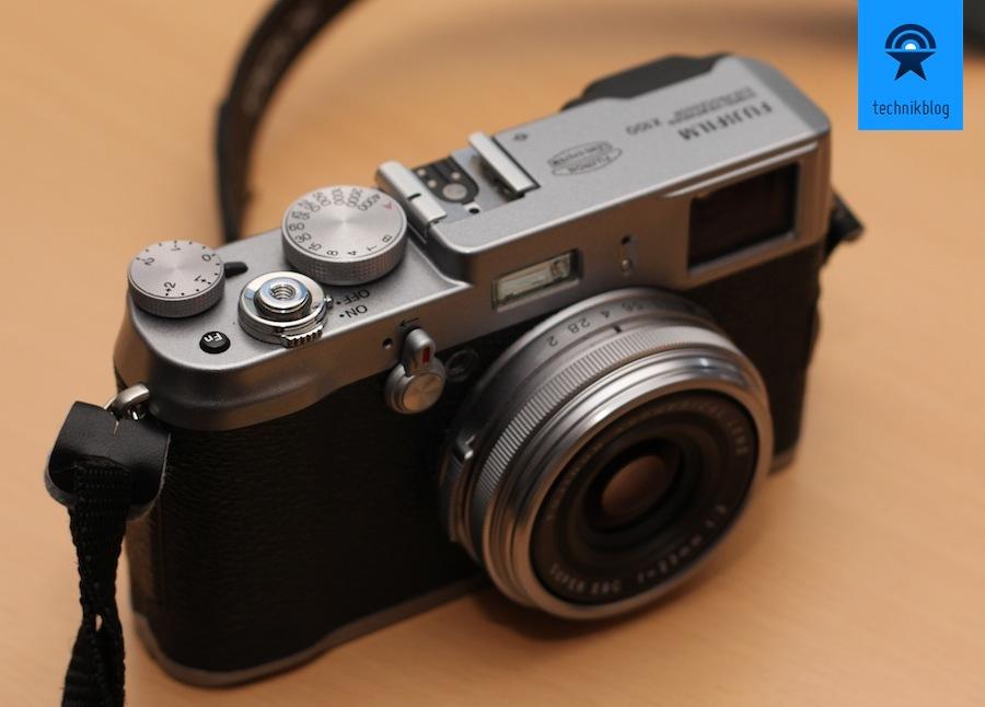Fujifilm FinePix X100 - wunderschöne Kamera