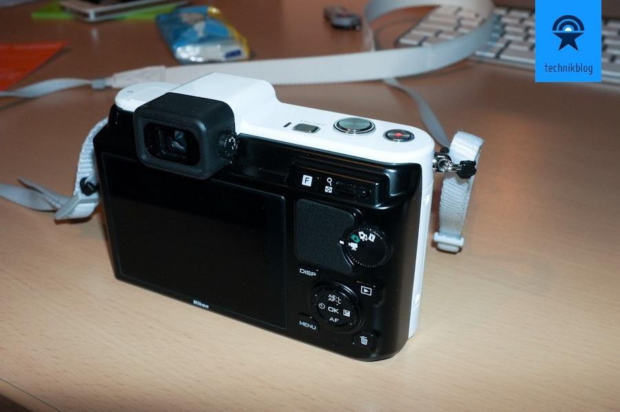 Nikon V1 - Die Bedienelemente
