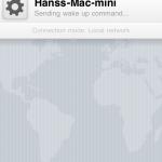 WOL mit der iPhone App iNet WOL