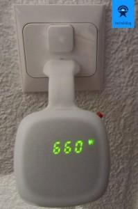 Wattcher - Anzeigegerät in der Wohnung