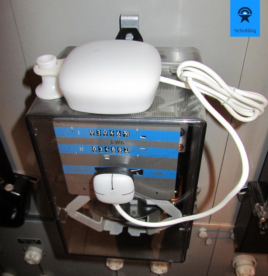Wattcher - Montage am Stromzähler