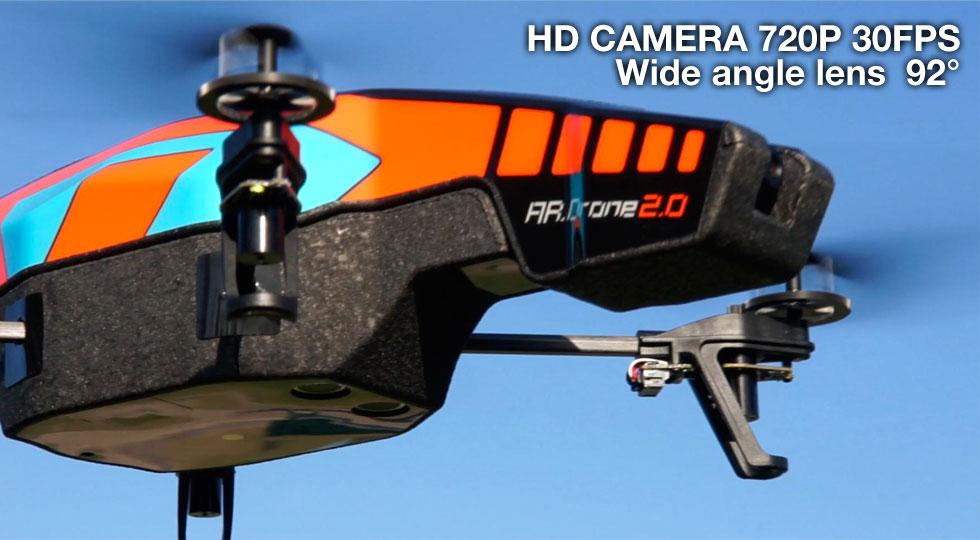 AR.Drone 2.0 mit 720p Video | Bild von parrot.com