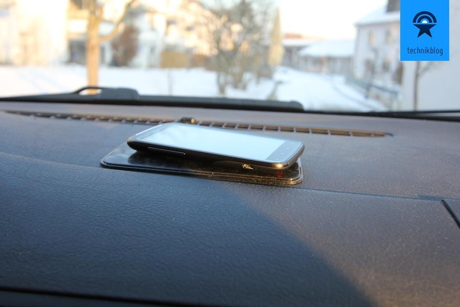 HD Voice mit HTC Sensation und Orange im Auto