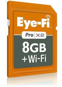 Eye-Fi Pro X2 - WLAN und Speicher in einem