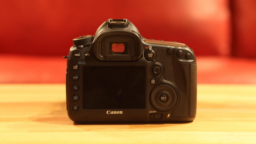 Review: EOS 5D Mark III - Rückseite