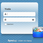 Synology DSM 4.0 beta Login