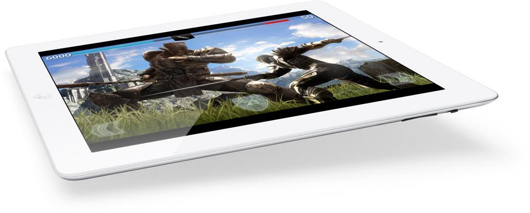 iPad mit 128GB Speicher