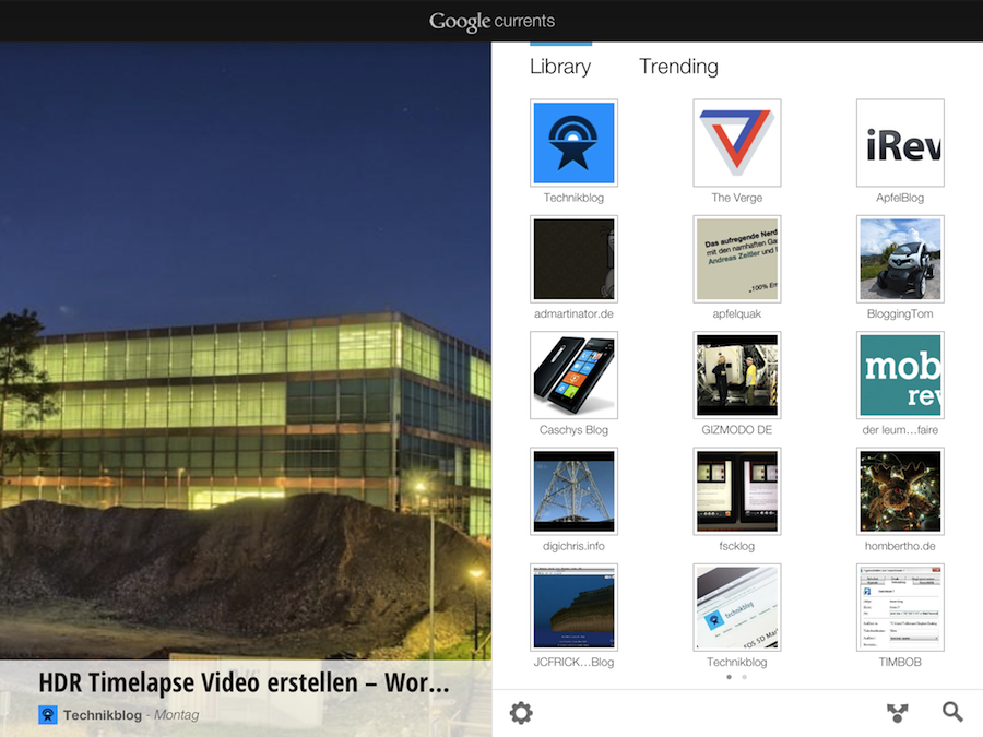 Google Currents Overview