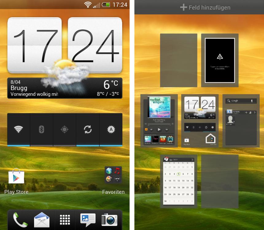 HTC One S mit Android 4.0 und Sense 4