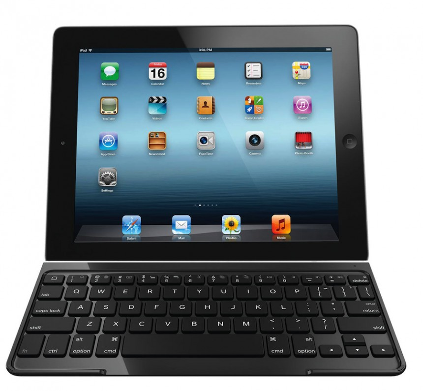 Logitech Ultrathin KeyBoard Cover mit dem iPad