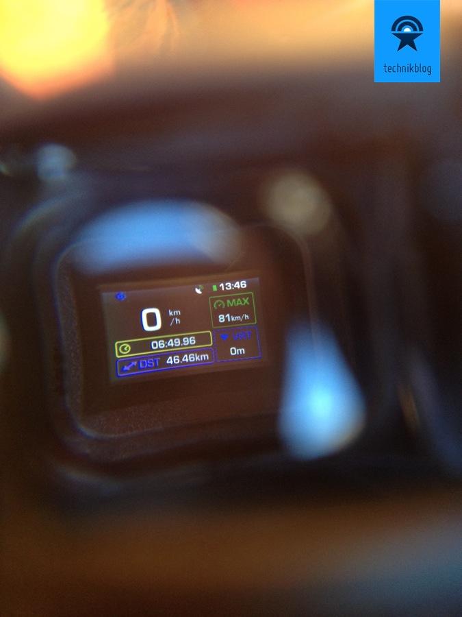 Recon MOD Testbericht - der Bildschirm der MOD