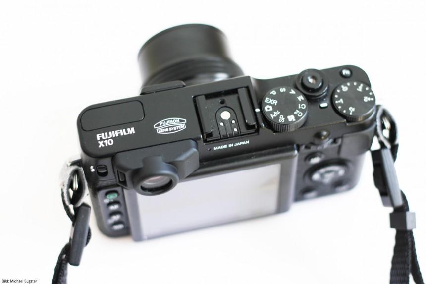 Fujifilm Finepix X10 Bedienelemente