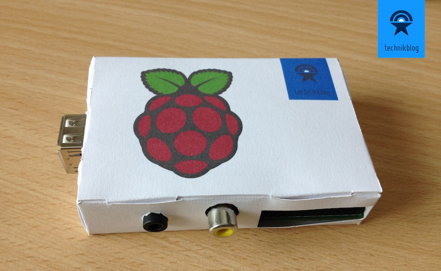 Raspberry Pi DIY Case with Paper