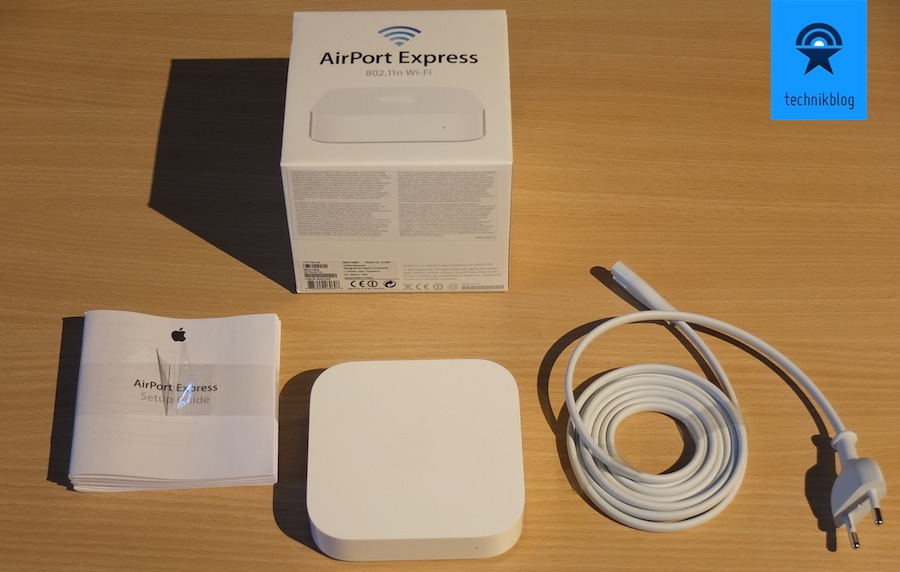 Apple AirPort Express Testbericht - Lieferumfang