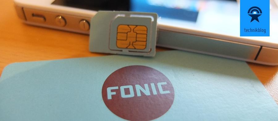 Fonic bietet gute Prepaid Datentarife in Deutschland