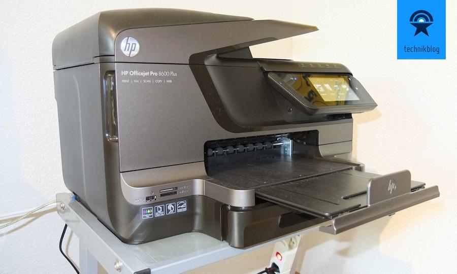 HP Officejet 8600 Pro im Einsatz