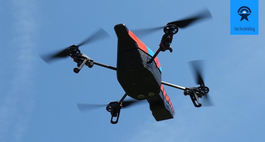 Testbericht AR.Drone 2.0 - Flug