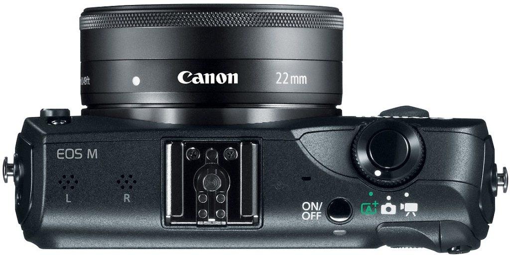 Canon EOS M von oben