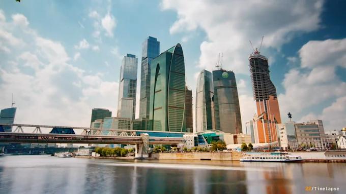 Moskau Timelapse