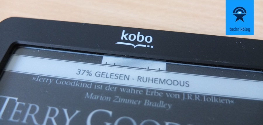 Review Kobo Touch eReader Header