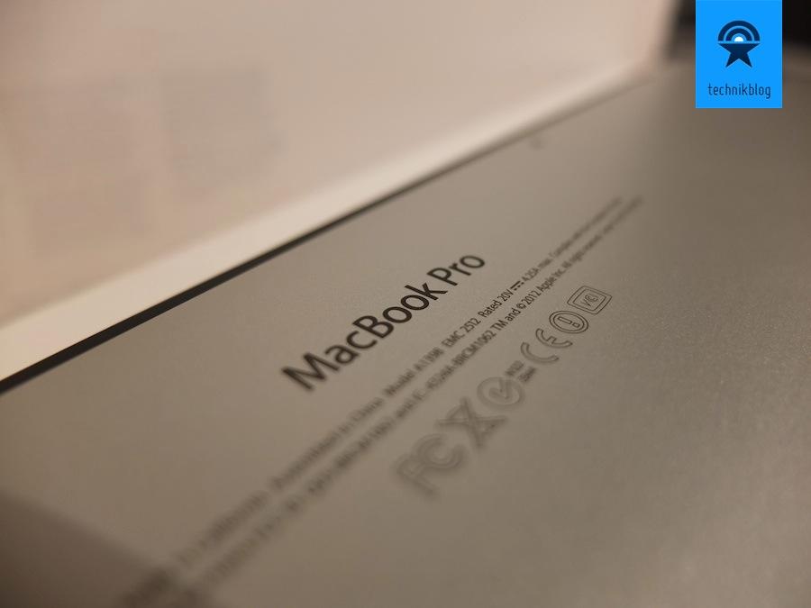 Testbericht MacBook Pro Retina