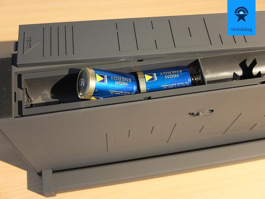 Stromversorgung über Batterien