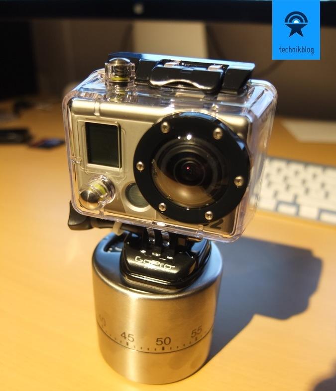 GoPro Motion Control Panorama Eigenbau
