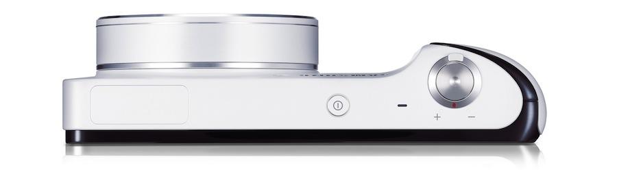 Samsung Galaxy Kamera von oben