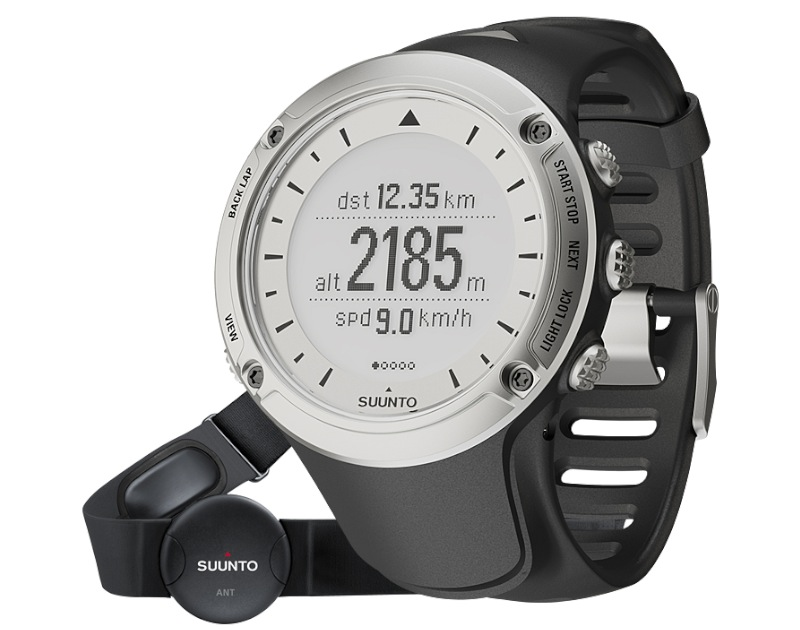 Suunto Ambit HR mit Messgurt