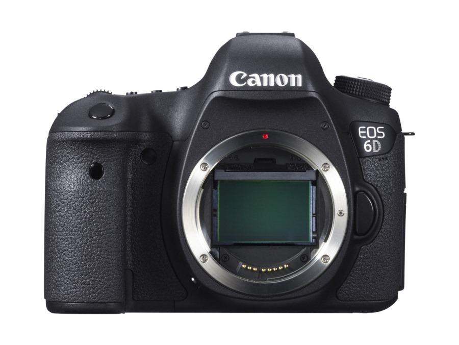 Canon EOS 6D mit Vollformat Sensor