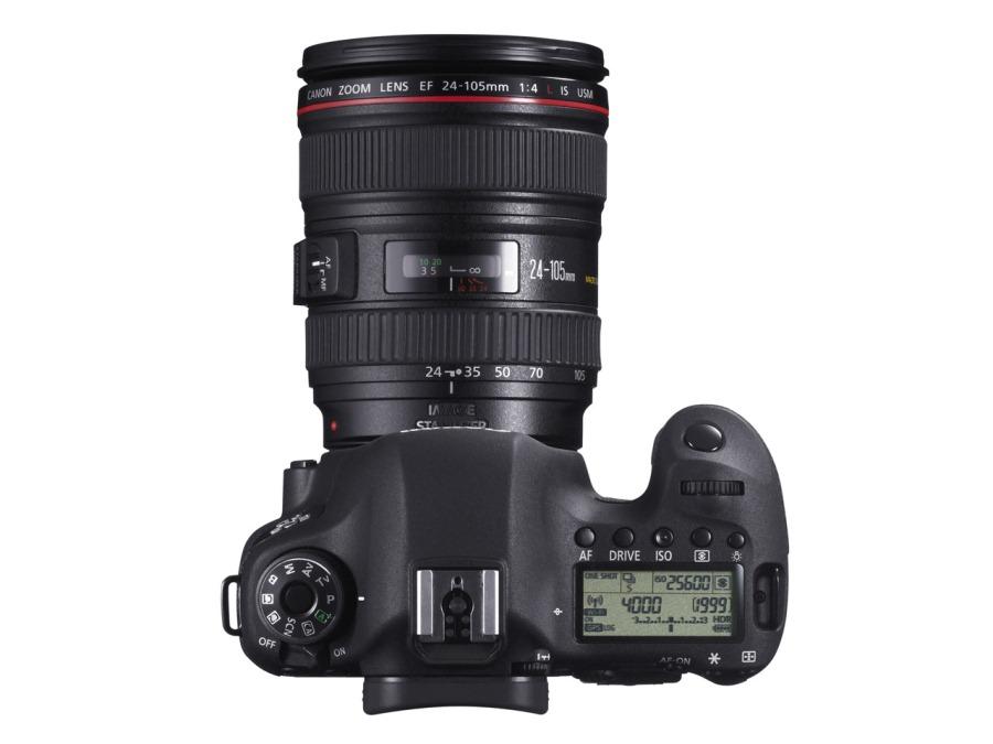 Canon EOS 6D von Oben