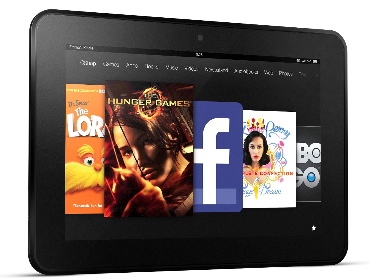 "Kindle Fire HD 8.9"" mit 4G"