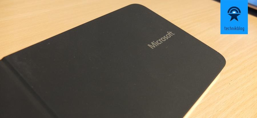 Microsoft Wedge Mobile Keyboard - Schutzhülle
