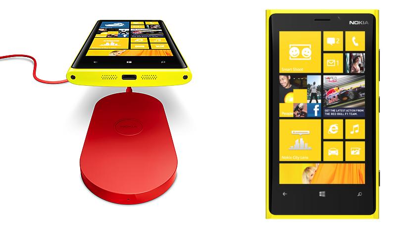 Nokia Lumia 920 - kabelloses Laden und Oberfläche von Windows 8