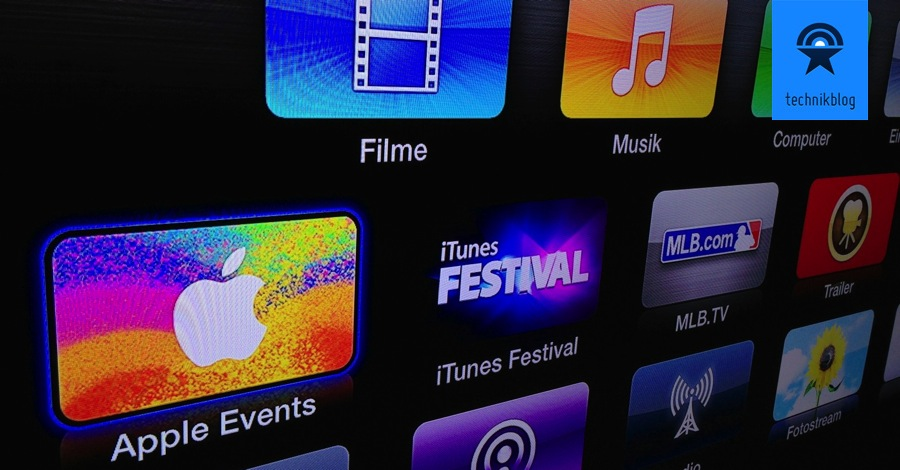 Apple Stream Apple TV Icon
