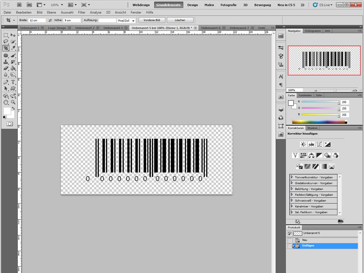 Barcode-Fertig