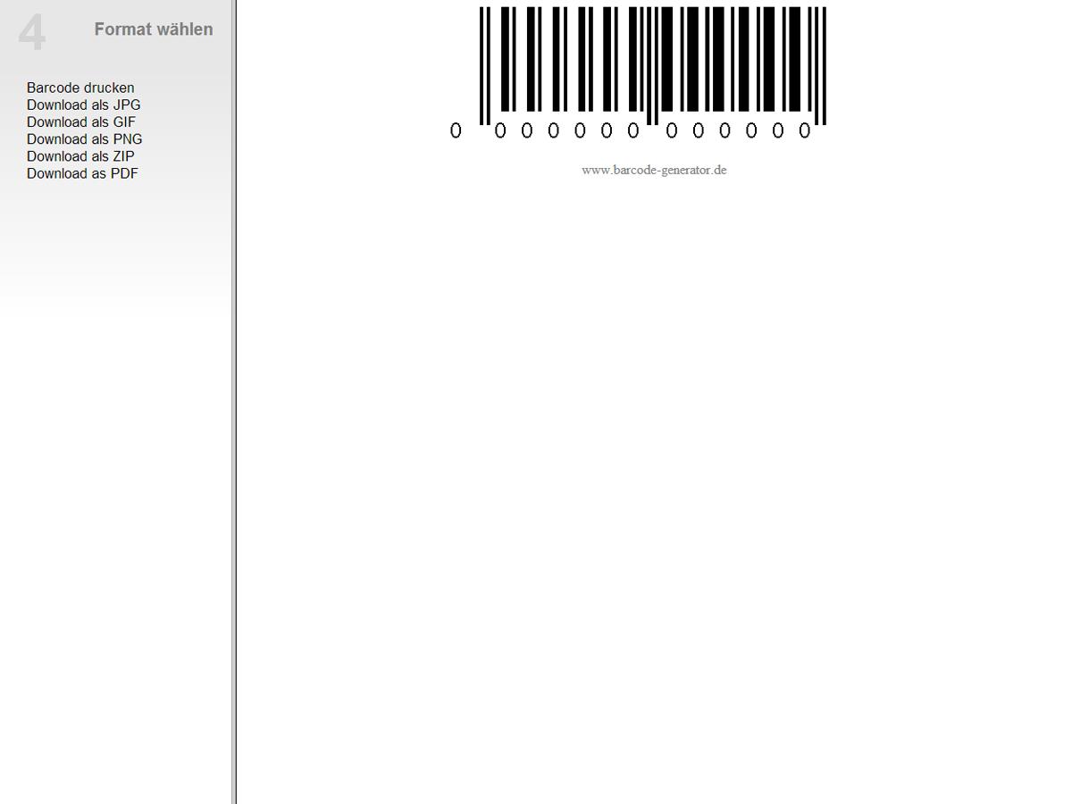 Barcode-Roh