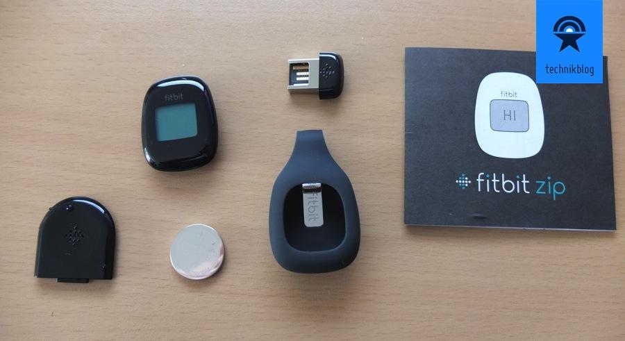 Fitbit Zip - Lieferumfang
