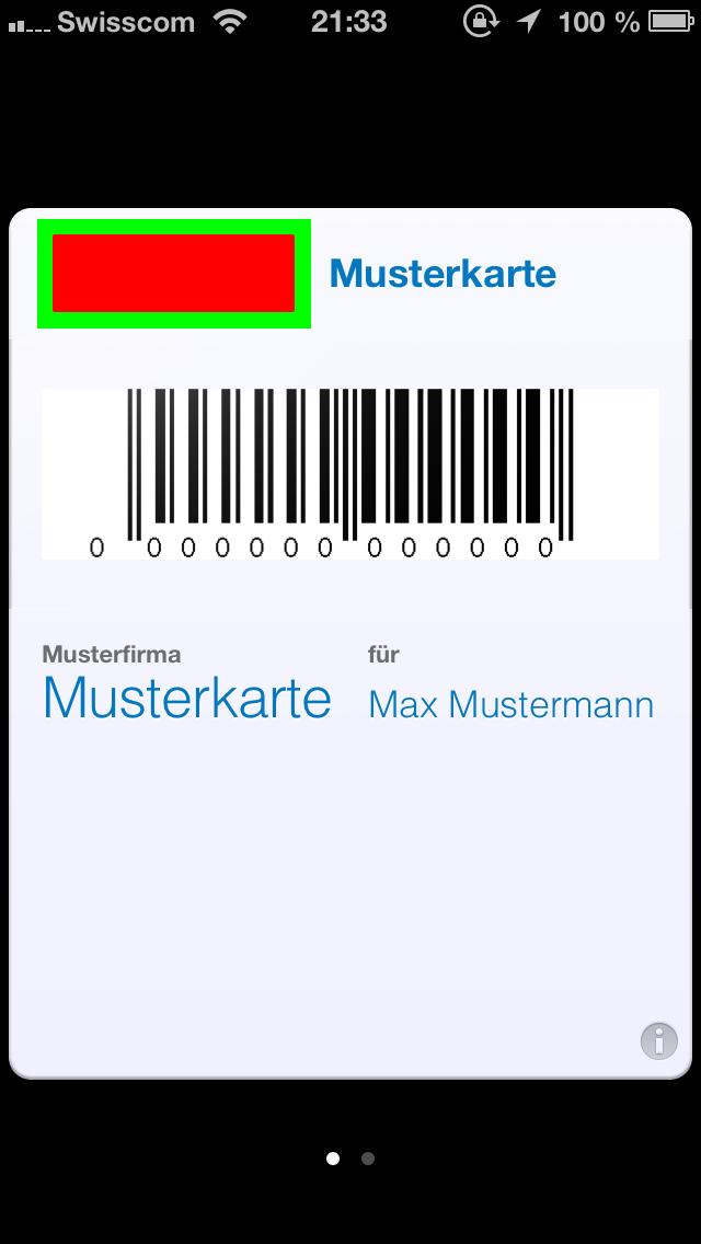 Kundenkarte-Aenderung